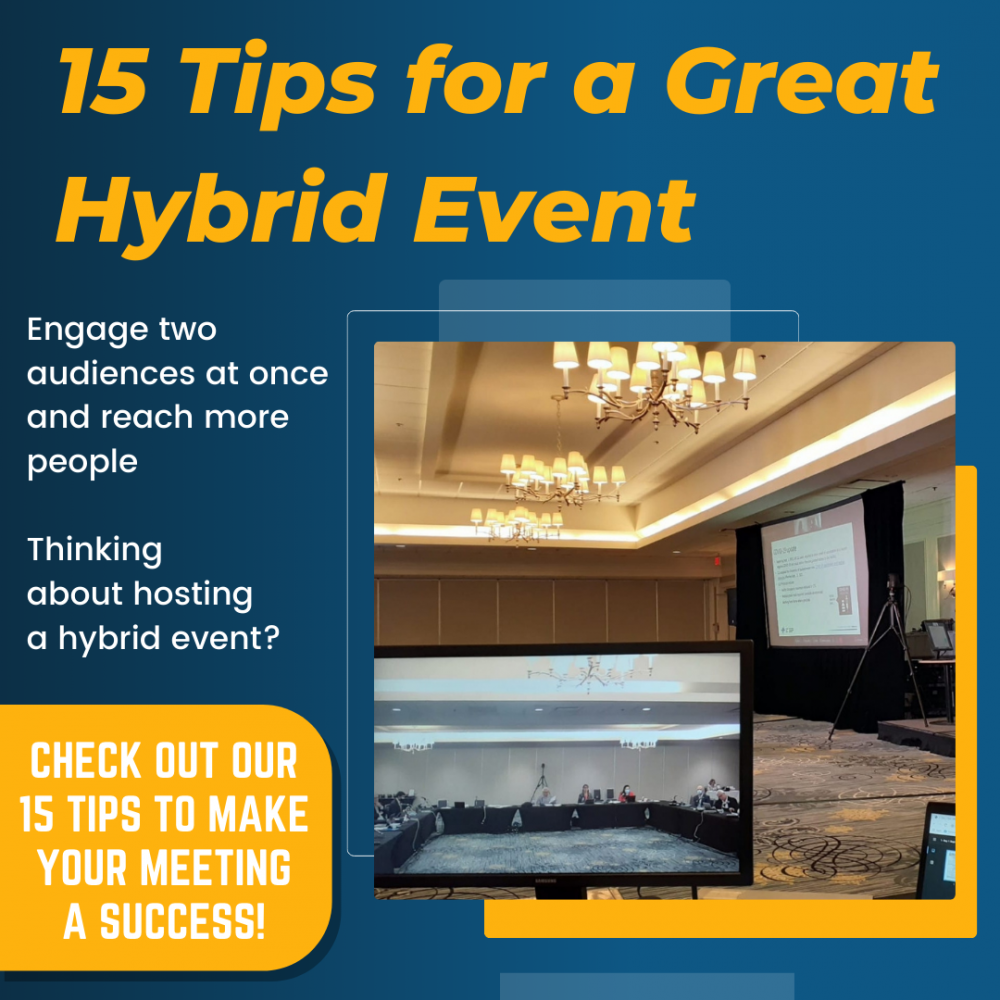 15 Tips for a Great Hybrid Meeting