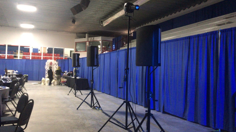 Wendel Clark Banner Hanging - Kelvington Arena, SK